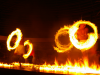 3 January 2010 - A fire-knife dancing spectacle in Samoa