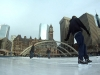 8 April 2012 - Skating in Nathan Phillips Square, Toronto, Canada