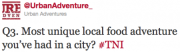 Read Urban Adventures Tweets Out Loud on #TNI