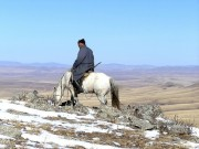 Read Photo of the Week: A Ranger in Khustai National Park, Mongolia