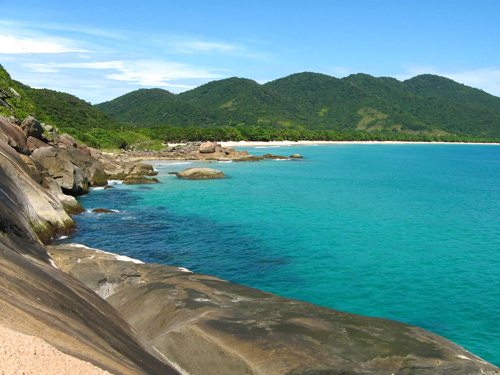 "Paradise found - Lopes Mendes Beach. Ilha Grande, which means ""Big Island"""