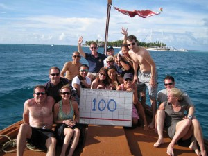 The Conrad guest research trip found the MWSRP's 100th shark