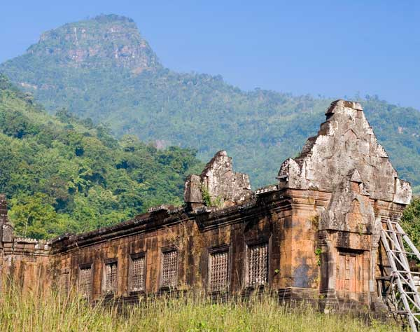 Champasak Laos  city pictures gallery : ... Wat Phou, located in Champasak, Laos, dates back to the sixth century