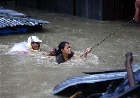 Rescue efforts began immediately, everyone able to help a neighbour reaching out as necessary