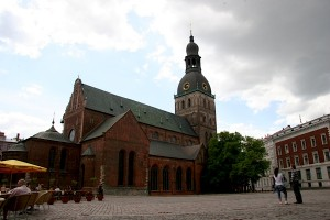 At the heart of Old Riga, on Dome Square is the Riga Cathedral, which dates back to 1211