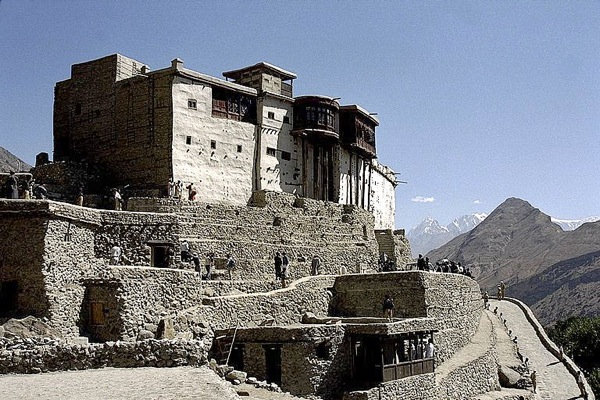 The ancient Baltit Fort, former seat of the Mirs of Hunza, Pakistan