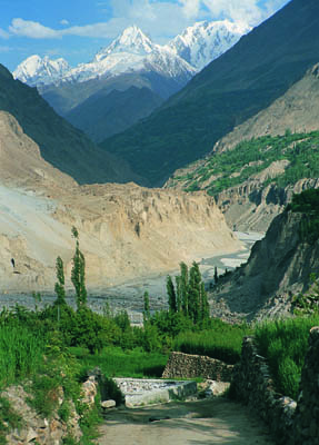 The dramatic natural beauty of the Hunza Valley, Pakistan