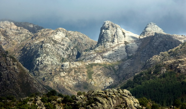 The rugged horizon of Peneda-Gerês National Park captures the dynamic and challenging qualities of the Portuguese wilderness (photo courtesy of PGNP Archive)