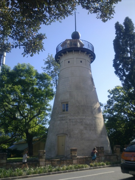 The Old Windmill of Brisbane, built by convicts in 1824, is the oldest European structure in Queensland. It has been used for convict punishment, hangings, TV broadcasting, the first Queensland museum and now a weather observatory.