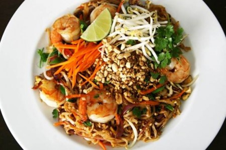 Pad thai is one of Thailand's national dishes
