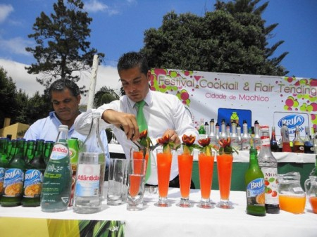 Not just content to showcase local cuisine, Machico Gastronomy Week on the island of Madeira, Portugal, also features a very popular cocktail festival