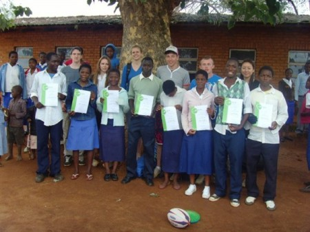 Schools in Malawi lack vital resources, but volunteers make a difference