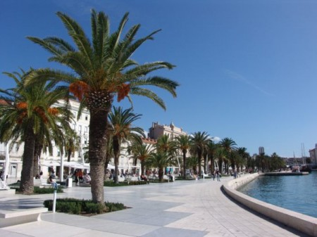 The Riva Promenada, Split Croatia
