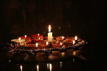 Diwali, a five-day Festival of Lights, in Tanzania