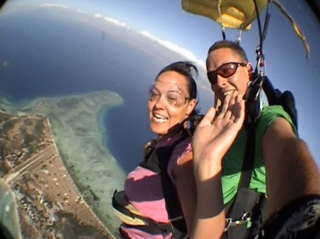 Skydive in Fiji