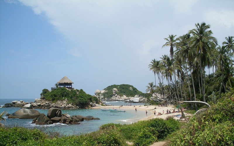 of coast to be discovered in Colombia's Tayrona National Park