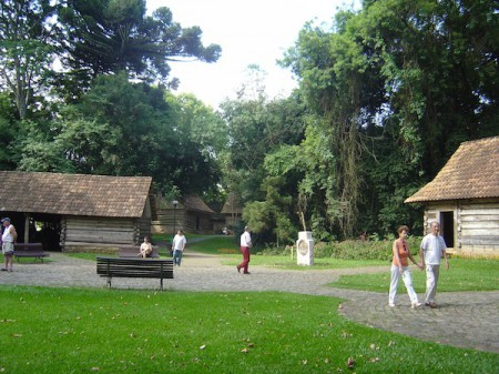 The Bosque do Papa (Pope Woods) is one of the most famous parks in Curitiba, Brazil