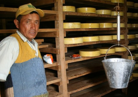 Yak cheese is a real treat at this high mountain village in the Himalay of Nepal