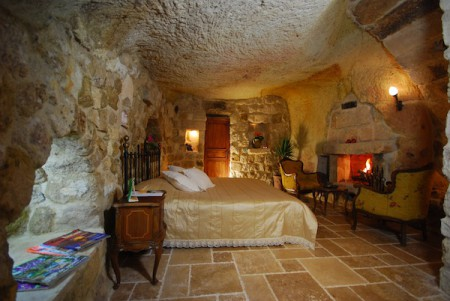 Unique accommodations are available to travellers in Cappadocia: cave hotels