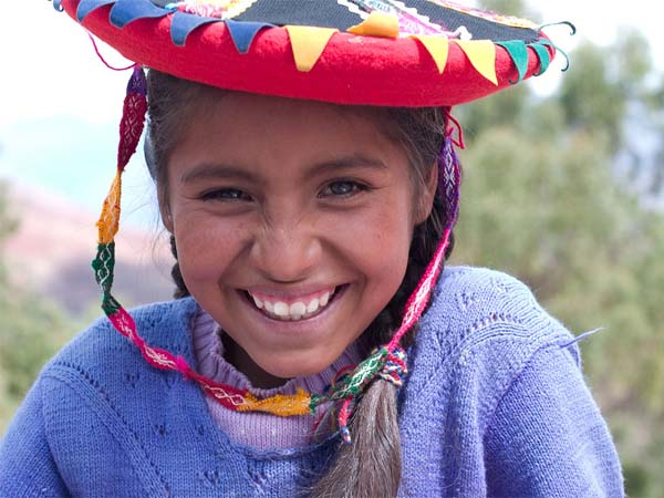 Photo of the Week (6 March 2011) - Smile from a Little Girl, Cusco, Peru