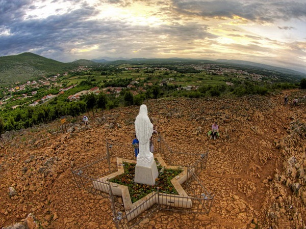 Medjugorje, Bosnia - Apparition Hill