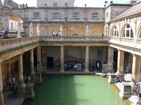 baths England Roman Baths 450x335 The Good, the Bath and the Ugly