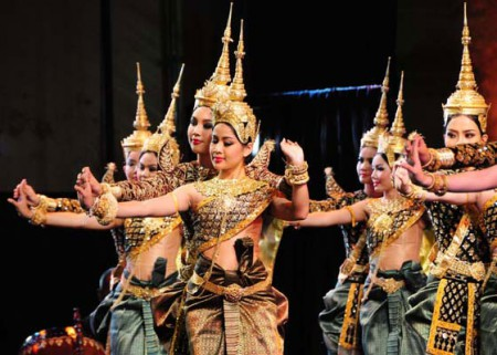 The Royal Cambodian Ballet at the 2010 World Sacred Music Festival in Fes, Morocco
