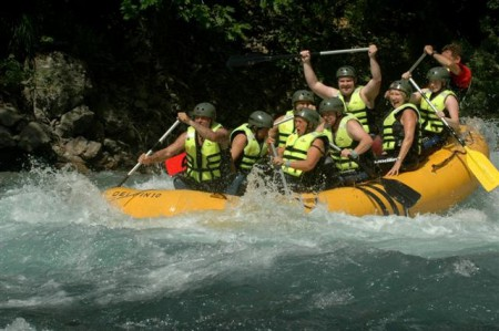 Rafting on the Tara River, Montenegro