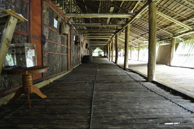 Borneo Malaysia Rungus longhouse interior How Long is Long Enough? A Slow Travel Cheat Sheet