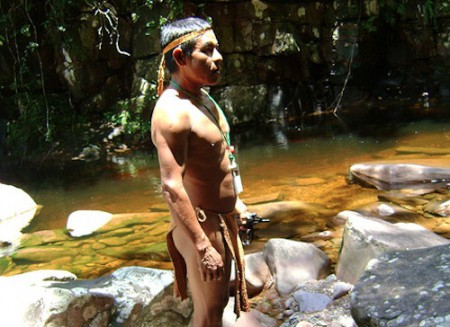 Pemon man, indigenous culture tours, Venezuela