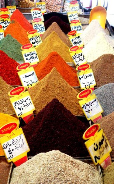 Photo of the Week (04 September 2011) - The Damscus Spice Market