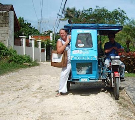 Trike in Boracay, Philippines
