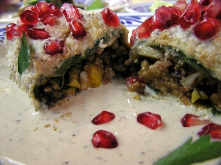 Mexican Cuisine Chiles en Nogada 450x337 Mexican Cuisine: An Intangible Cultural Heritage Recognised by UNESCO