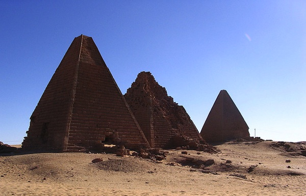 6 UNESCO World Heritage alternative - Pyramids of Gebel Barkal, Sudan