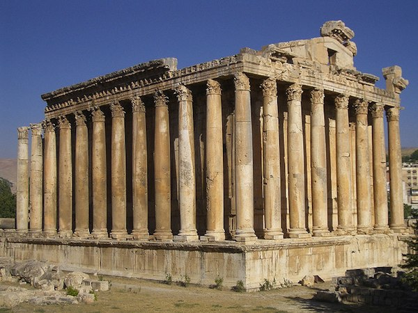 7 UNESCO World Heritage alternative - Baalbek, Lebanon