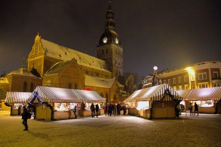 Christmas Market of Riga, Latvia