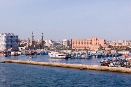 Port Said harbor 450x299 Prestigious Port Said Brings the Suez Canal to the whl.travel Network in Egypt