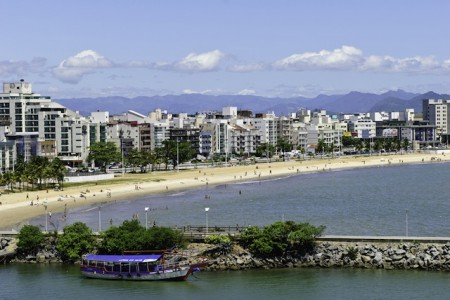 Camburi Beach, in the city of Vitória, Brazil