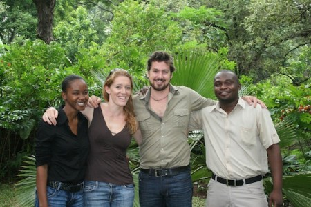 Staff of The Responsible Safari Company, Malawi