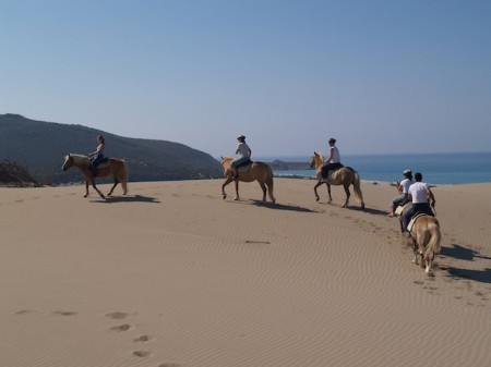 Horseback riding in Antalya, Turkey