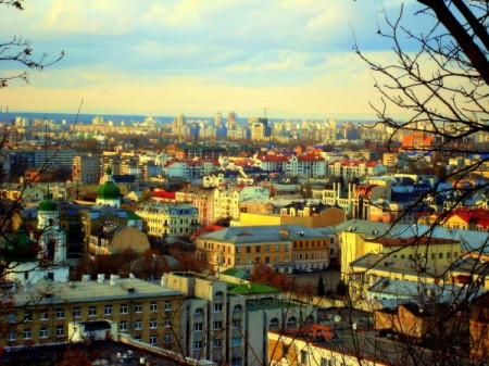A view of Kiev, Ukraine