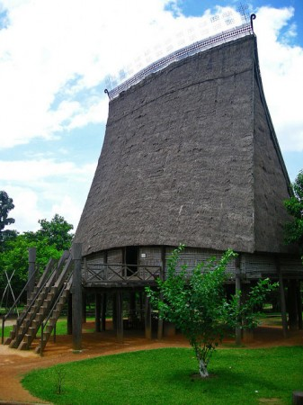 Vietnam Museum of Ethnology in Hanoi, Vietnam