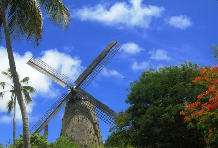 barbados morgan lewis windmill 450x306 Tropical Barbados Joins the whl.travel Network