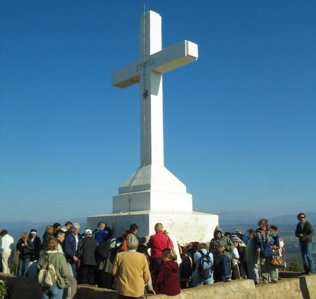 bosnia Medjugorje Inside Word- Cross Mountain