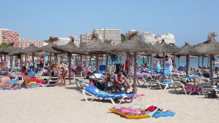 Magaluf Beach, Mallorca, Spain