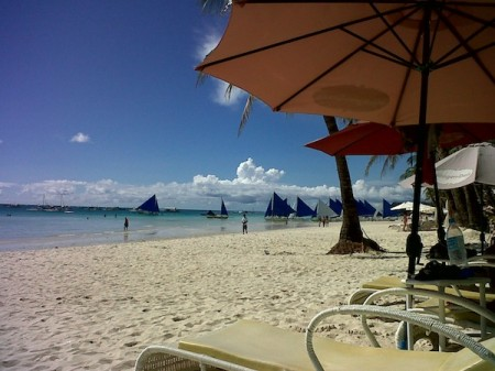 favorite landscapes - trudy allen white beach boracay