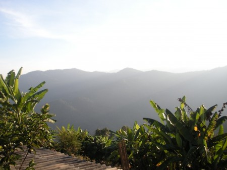 northern thailand ecotourism - mountain view