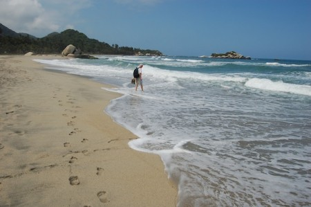 tayrona national park santa marta colombia beach 450x299 Worth the Journey! Tayrona National Park, Colombia