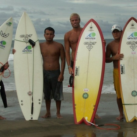 Surf voluntourism with Waves for Development