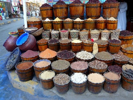 local market, Hurghada, Egypt